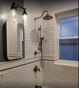 Bathroom Showers by URB Remodeling